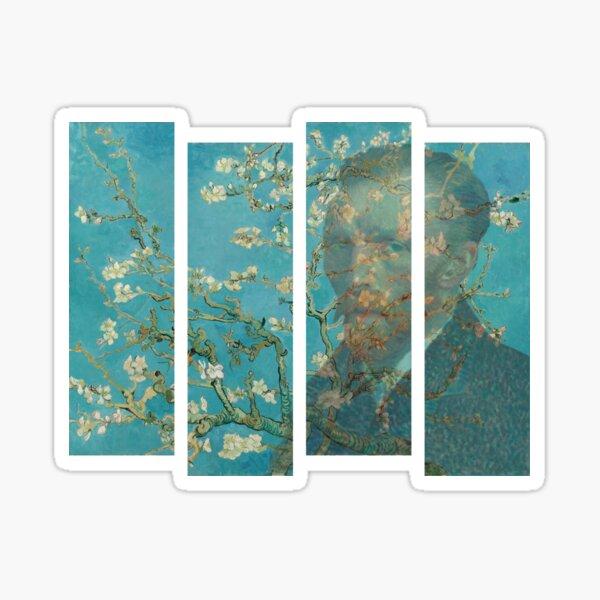 Van Gogh - Almond Blossom Sticker