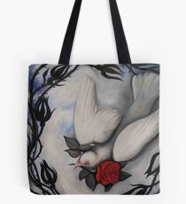 """""""My Love is Like a Red, Red Rose"""" Tote Bag"""