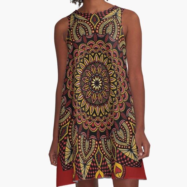 Queen of Hearts A-Line Dress