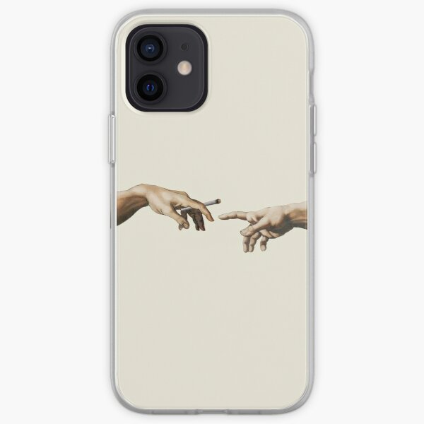 Joint pass - The Creation of Adam iPhone Soft Case