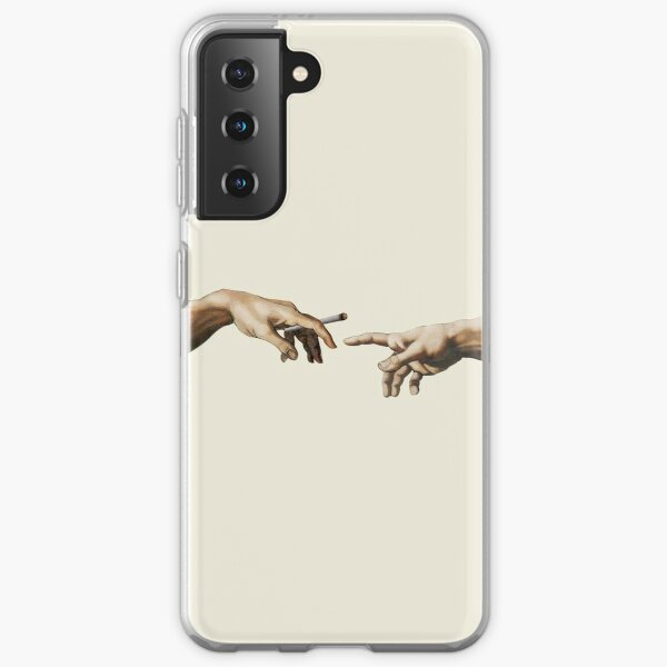 Joint pass - The Creation of Adam Samsung Galaxy Soft Case