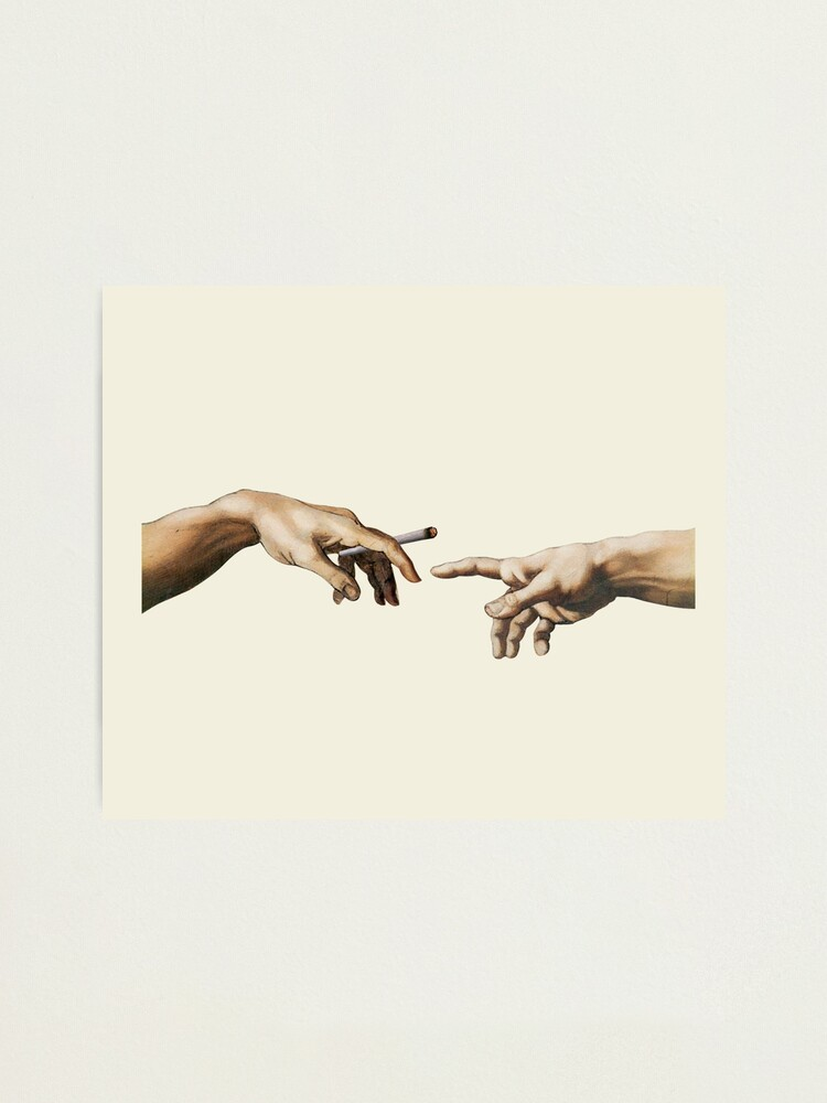Alternate view of Joint pass - The Creation of Adam Photographic Print