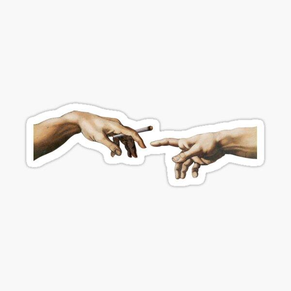 Col commun - La création d'Adam Sticker