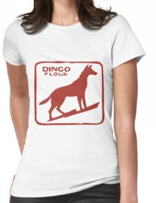 Dingo Flour Mill Womens Fitted T-Shirt