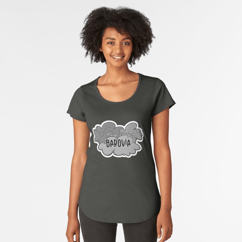 In Barovia ist es immer bewölkt Premium Rundhals-Shirt