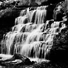 Falls in Black and White by mltrue