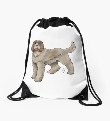 Spinone Italiano Drawstring Bag