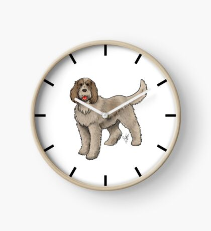 Spinone Italiano Clock