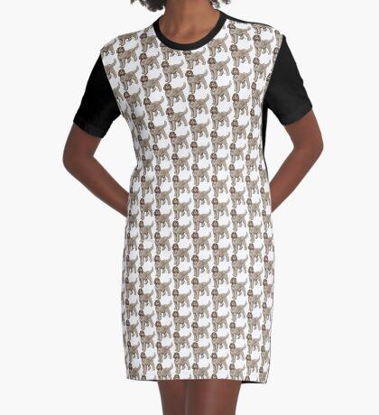 Spinone Italiano Graphic T-Shirt Dress