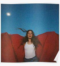 Maggie Roger hat es in einem früheren Album-Cover gehört Poster