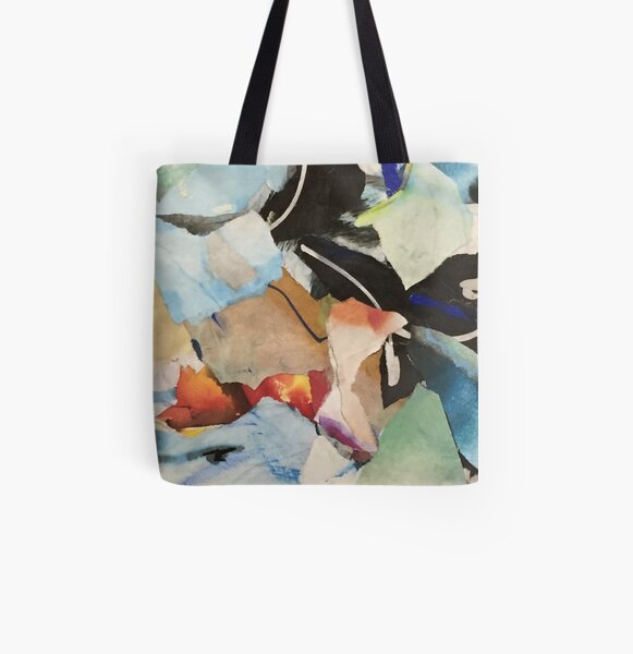 Catharsis No. 28 All Over Print Tote Bag