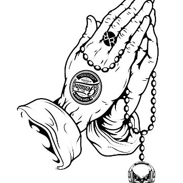 Rubino Prayer Hands Praying by RubinoCreative