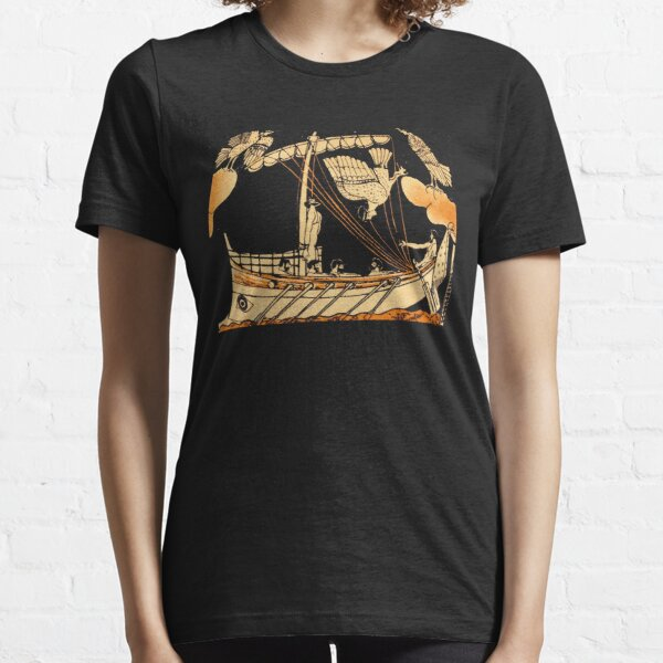 The Odyssey Homer Illustration T-Shirt Essential T-Shirt