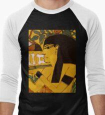 Egyptian Art Pattern Men's Baseball ¾ T-Shirt