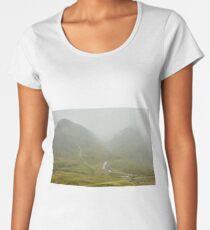 The Three Sisters of Glencoe, Scotland Women's Premium T-Shirt