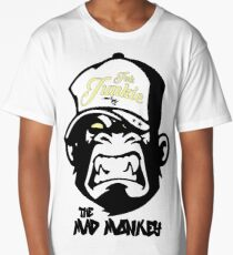 Ink Junkie - Tattoo Art - Monkey Cartoon Long T-Shirt