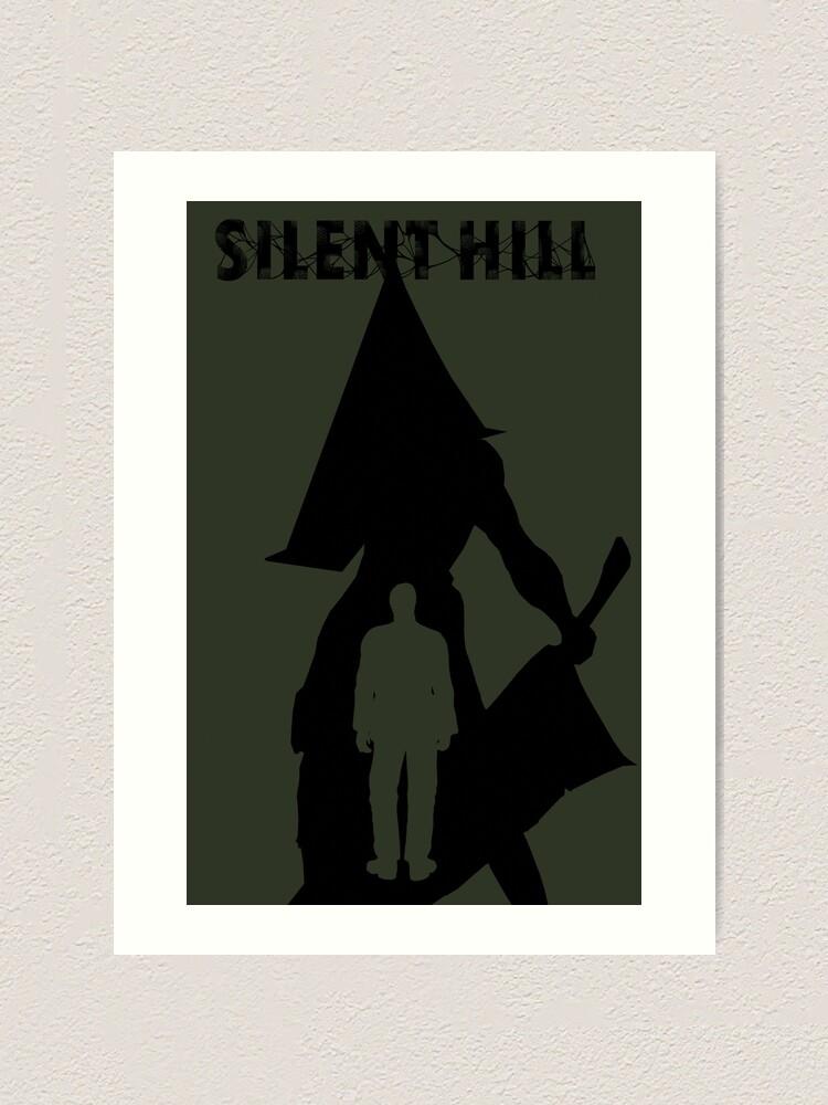 Silent Hill 2 Pyramid Head Art Print By Nyxingitup Redbubble