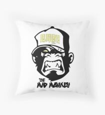 Gangster - Thug - Monkey Cartoon - Delinquent Nato Floor Pillow