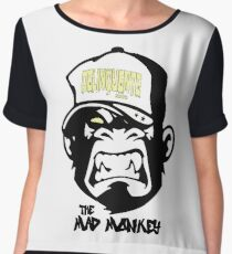 Gangster - Thug - Monkey Cartoon - Delinquent Nato Chiffon Top