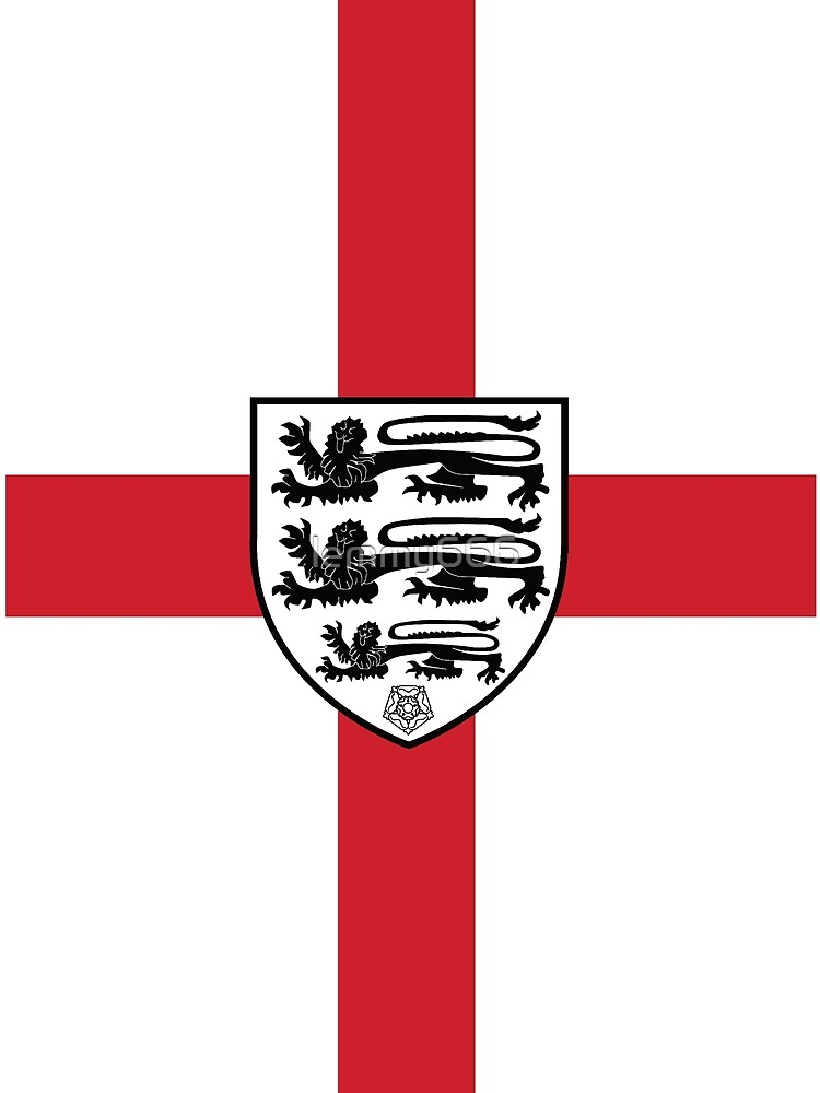 England Flag - Coat of Arms by lemmy666