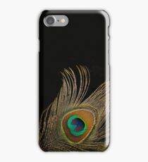 Peacock Feather Still Life iPhone Case/Skin