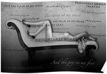 Phenomenal woman written by maya angelou english literature essay