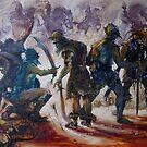 Yurak Hai Warriors - Lord of the Rings by Pieter Zaadstra