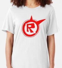 Roblox logo remastered  Slim Fit T-Shirt