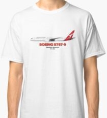 Boeing B787-9 - Qantas Airways Classic T-Shirt