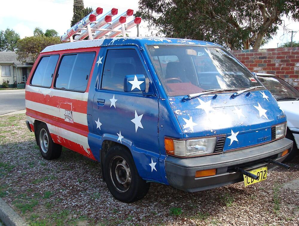 Team America Van - Bayswater by TheLazyAussie