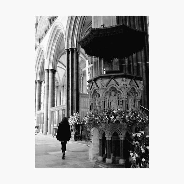 Sailsbury Cathedral Photographic Print