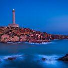 Faro de Cabo de Palos Blue Hour by Ralph Goldsmith