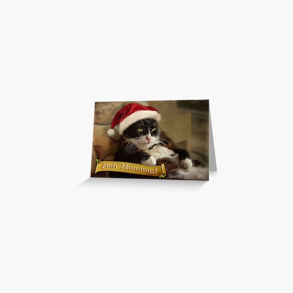 Bah Humbug Trouble Greeting Card