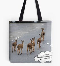 Parking Lot Woes Tote Bag