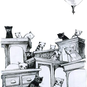 Cat Party - on the robes by sonofsamorr