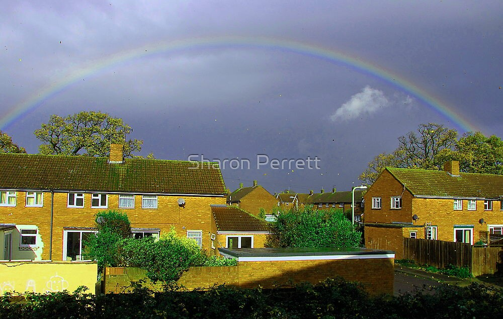 THe storm is coming by Sharon Perrett