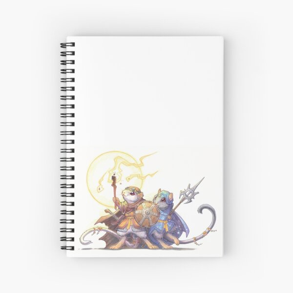 adventure gerbils Spiral Notebook