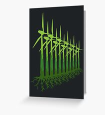Green Power Greeting Card