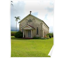 Old Church - Tully - Queensland Poster