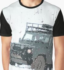 Landrover Christmas  Graphic T-Shirt