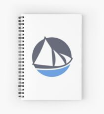 Solus Linux Spiral Notebook