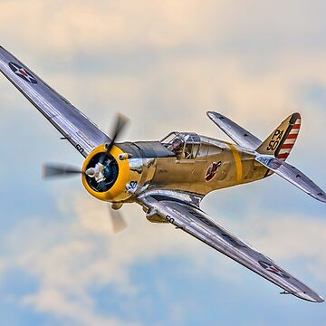 Curtiss P-36C Hawk 38-210 N80FR by oscar533