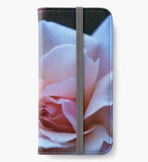 Blushing Pink Rose iPhone Wallet/Case/Skin