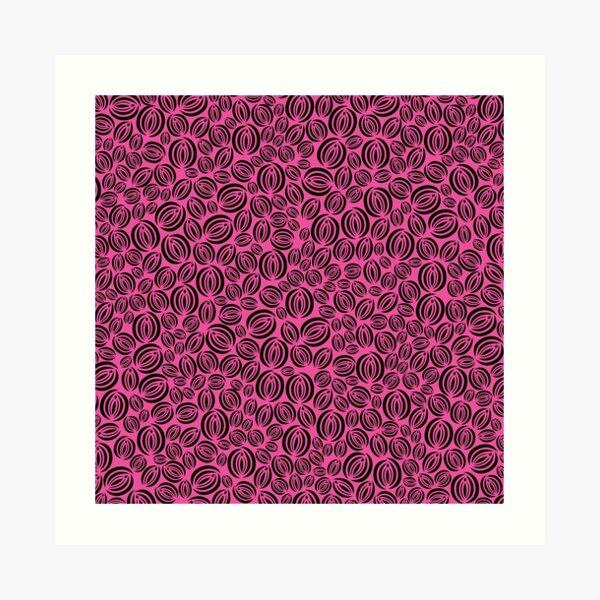 Vulva Garden 2 Art Print