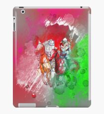 poloplayer red abstract iPad-Hülle & Skin