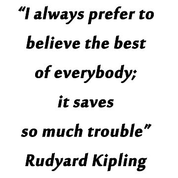 Kipling - Best Of Everybody by CrankyOldDude