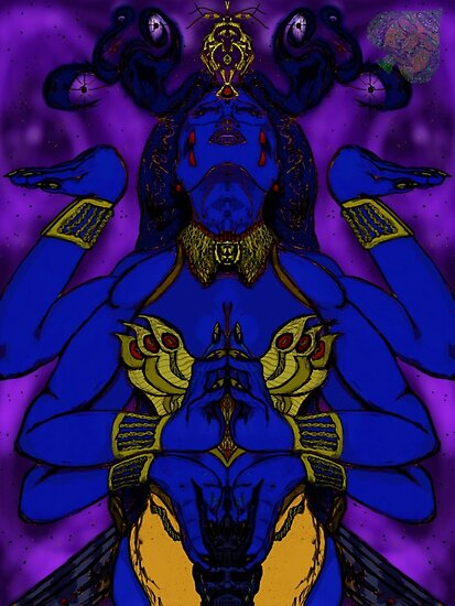 Kali: Hindu Goddess Of Life and Death by GrnAce