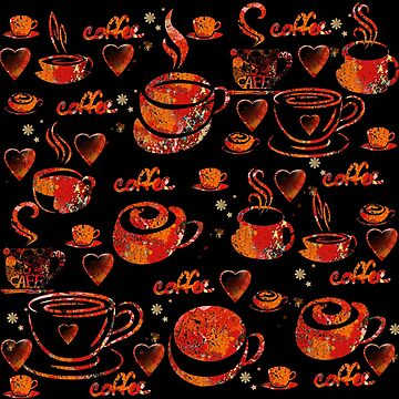 I love coffee by susana-art