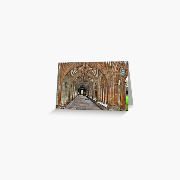 Cambidge, Cathedral Greeting Card
