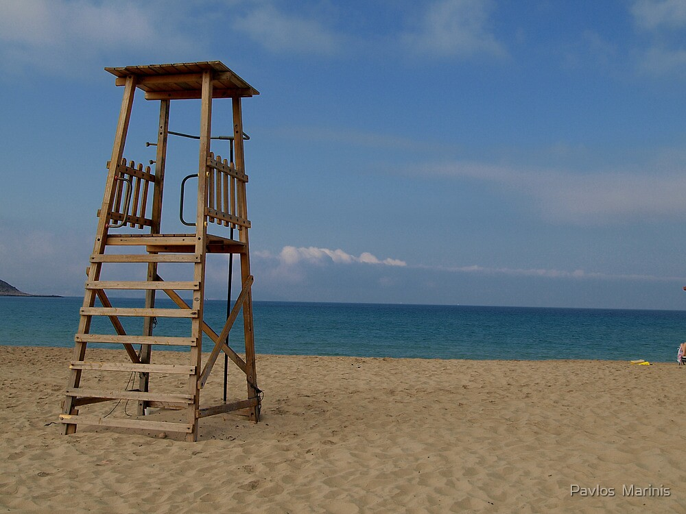 beach by Pavlos  Marinis